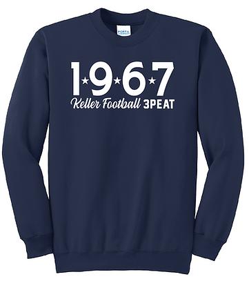 FOOTBALL PLAYOFFS 1967 SWEATSHIRT
