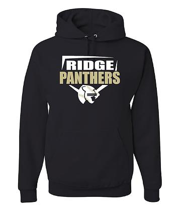 RIDGE PANTHERS HOODY-BLACK
