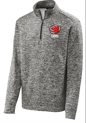 Heather Dry- fit 1/4 Zip Pullover
