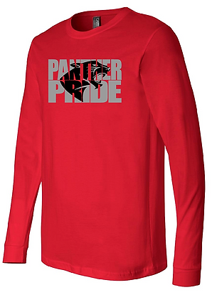 Glitter Panther Pride Long Sleeve