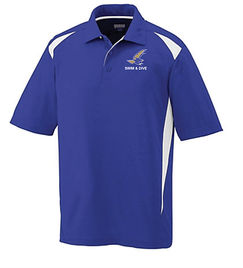 TCHS SWIM POLO- PURPLE