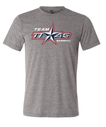 TEAM TEXAS STAR TEE- GRAY