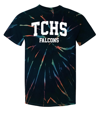 TCHS Tie Dyed T-Shirt
