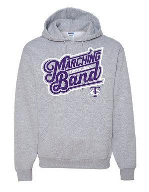 TCHS BAND HOODY GRAY