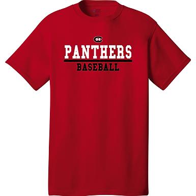 (2) Short Sleeved Shirt- Red
