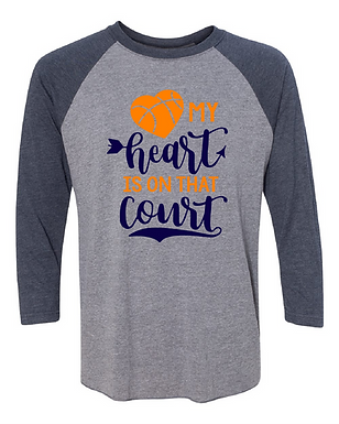 Basketball Raglan
