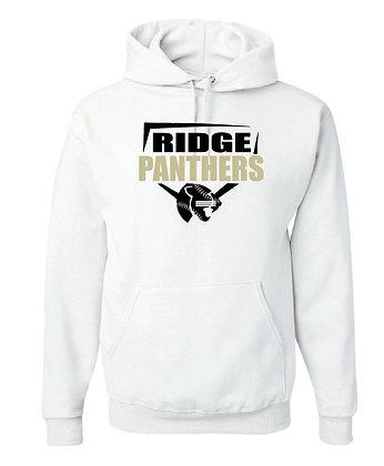 RIDGE PANTHERS HOODY-WHITE