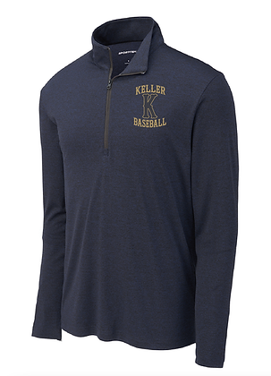 KHS BASEBALL- DRY-FIT 1/4 ZIP