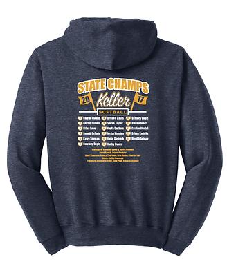 KHS Softball State Sweatshirt