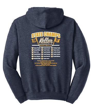 KHS Softball State Sweatshirt