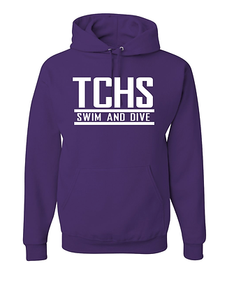 TCHS SWIM PURPLE HOODY