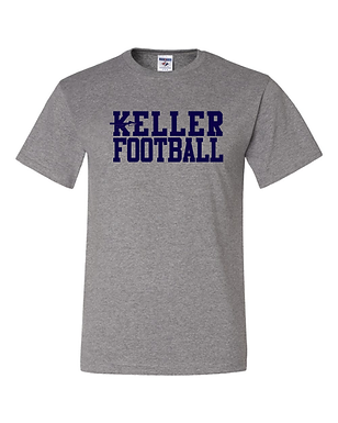 KELLER FOOTBALL- OFFICIAL TEE