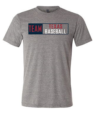 TEAM TEXAS BOX TEE- GRAY