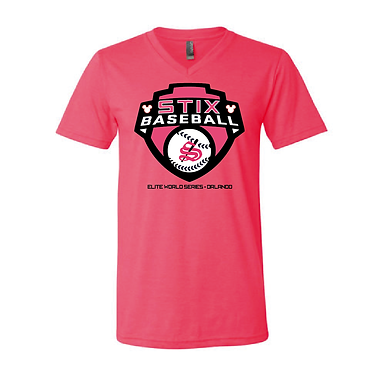 Ladies V-Neck Soft T-Shirt
