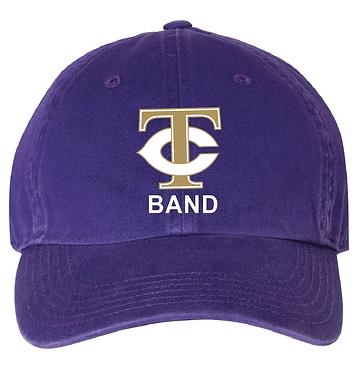 TCHS BAND ADJUSTABLE HAT PURPLE