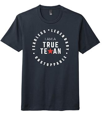 TTP- TRUE TEXAN T-SHIRT- NAVY