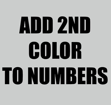 KYA ADD-ON: 2ND COLOR NUMBERS
