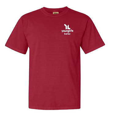 Red Young Life Comfort Colors