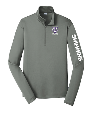 TCHS SWIM GRAY PULLOVER