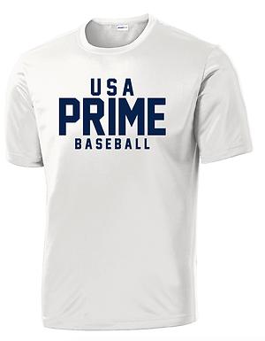 USA PRIME- CLASSIC TEE- WHITE