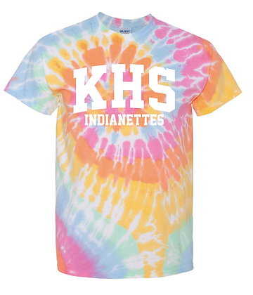 INDIANETTES- TIE-DYE T-SHIRT
