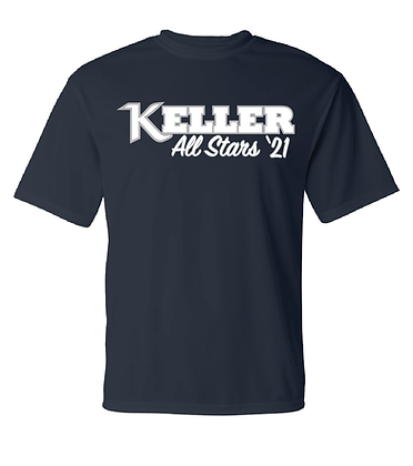 KYA All-Stars- Dry-Fit Shirt- Navy