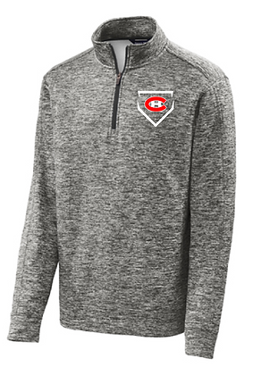 Heather Dry-fit 1/4 Zip Pullover