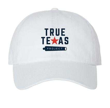 TTP: DAD HAT- WHITE