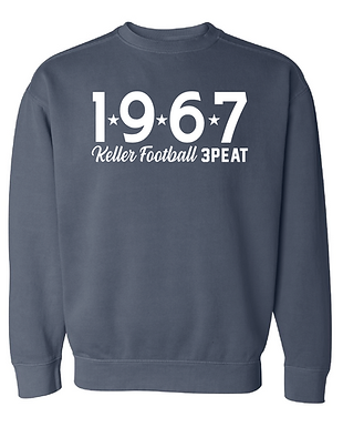 FOOTBALL PLAYOFFS 1967 COMFORT COLORS