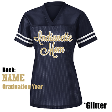 INDIANETTES- Ladies Glitter Jersey