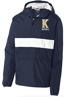 KHS BASEBALL- WINDBREAK PULLOVER