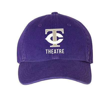 TCHS THEATRE HAT PURPLE