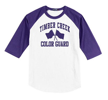 TC Color Guard Raglan