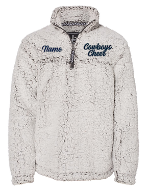 KYA CHEER SHERPA PULLOVER- COWBOYS