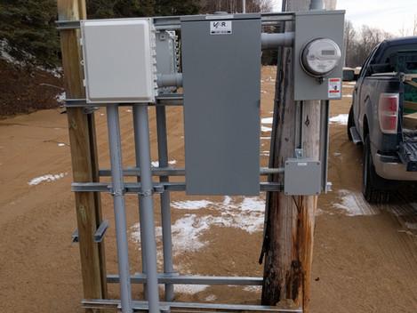 Camping Portneuf - Installation électriques pour multiples entrées et aménagements électriques pour