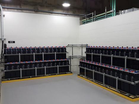 Projet HQ Outardes 2 - Remplacement des batteries