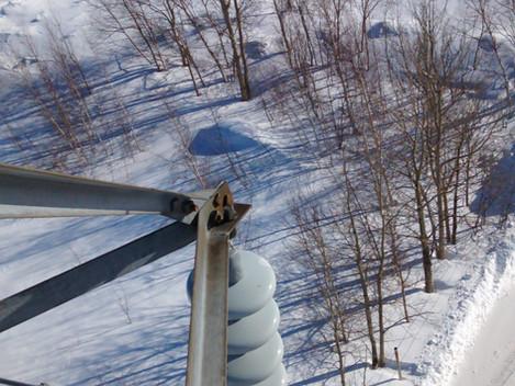 Inspection de ligne et de pylône haute tension