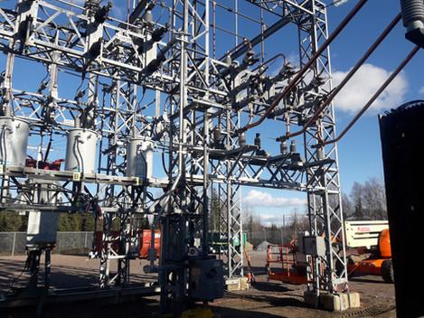 Hydro-Québec - Poste Chûte-aux-Outardes - Remplacement de disjoncteurs 69 kV et 25 kV - 2016 à 2018