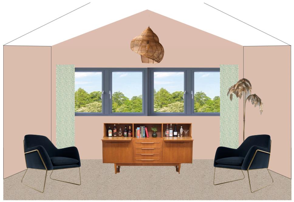Bedroom Drawn Design - Fresh Start Living