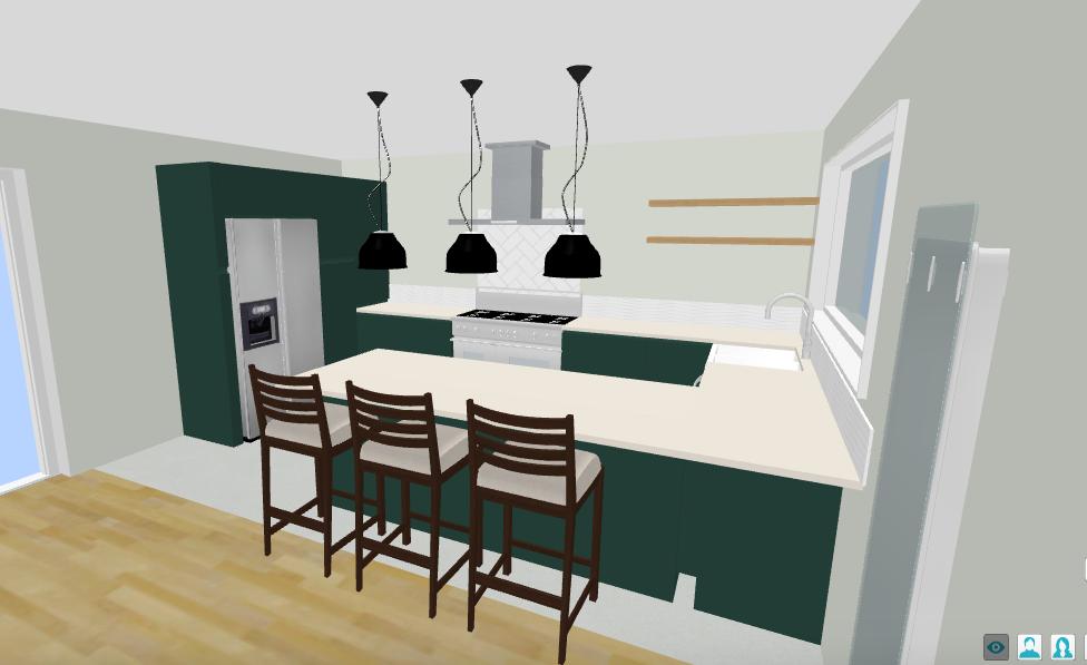 3D Kitchen Design - Fresh Start Living