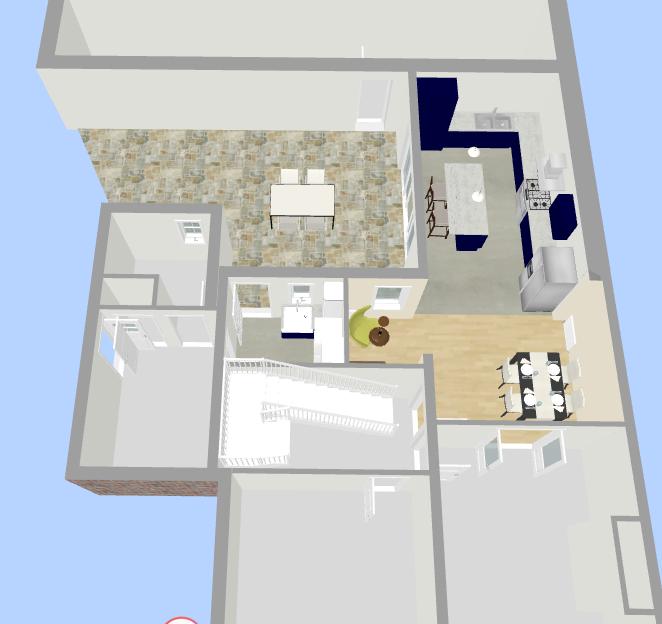 Interior Design Floor Plan 3 - Fresh Start Living