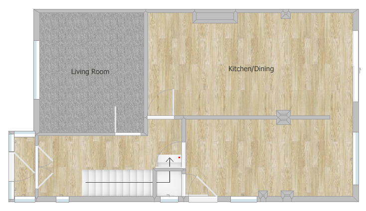 Downstairs Floor Plan - Fresh Start Living