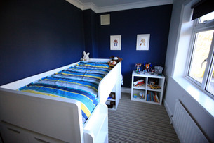 Creating a fun kid's bedroom in a box room