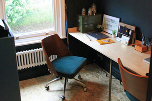 Interior Design Project - The small space home office