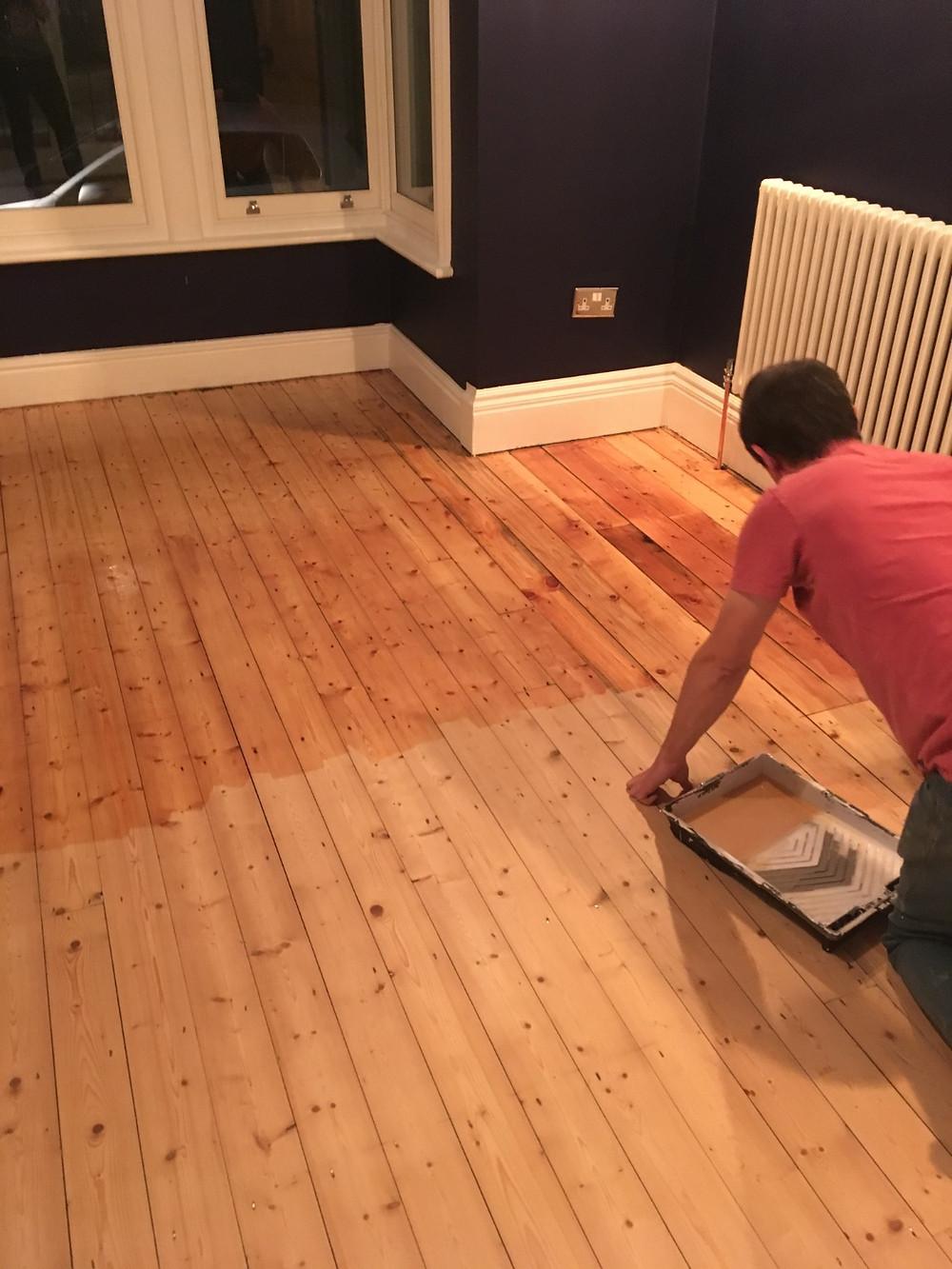 Finishing Your Floors - Fresh Start Living