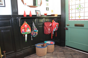How To Add Coat And Shoe Storage In A Period Hallway