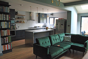How to create an Open Plan Kitchen and Living Space