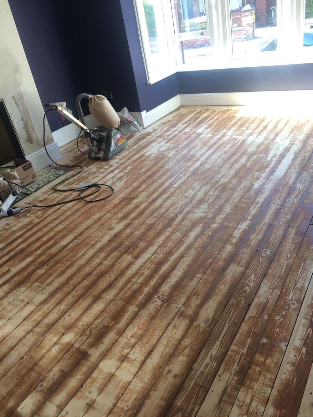 Sanded Floorboards - Fresh Start Living