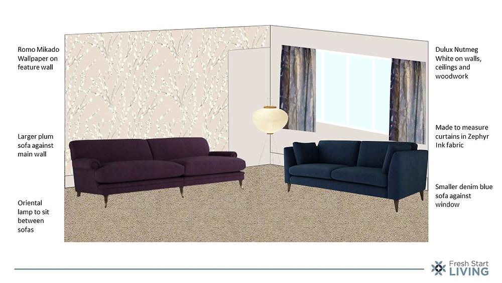 Furniture Layout - Fresh Start Living