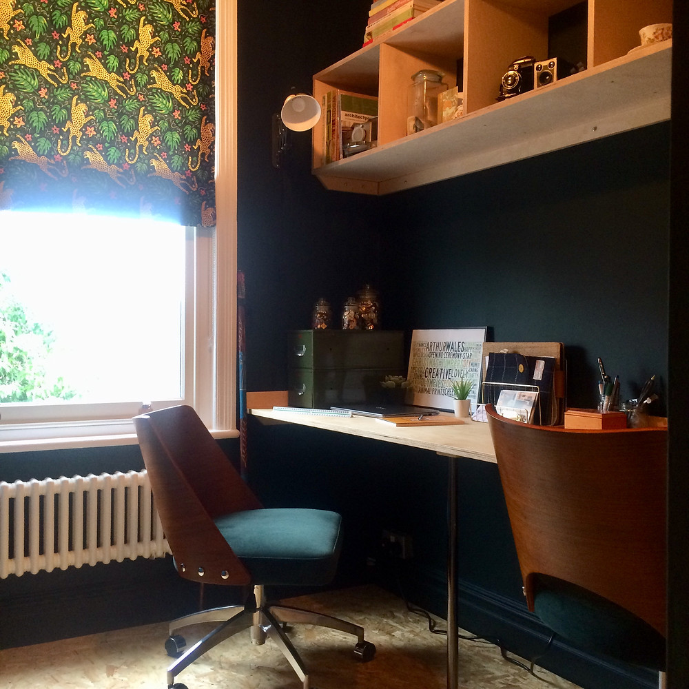 Small Home Office Space - Fresh Start Living